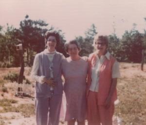 Grandma Jetton and girls